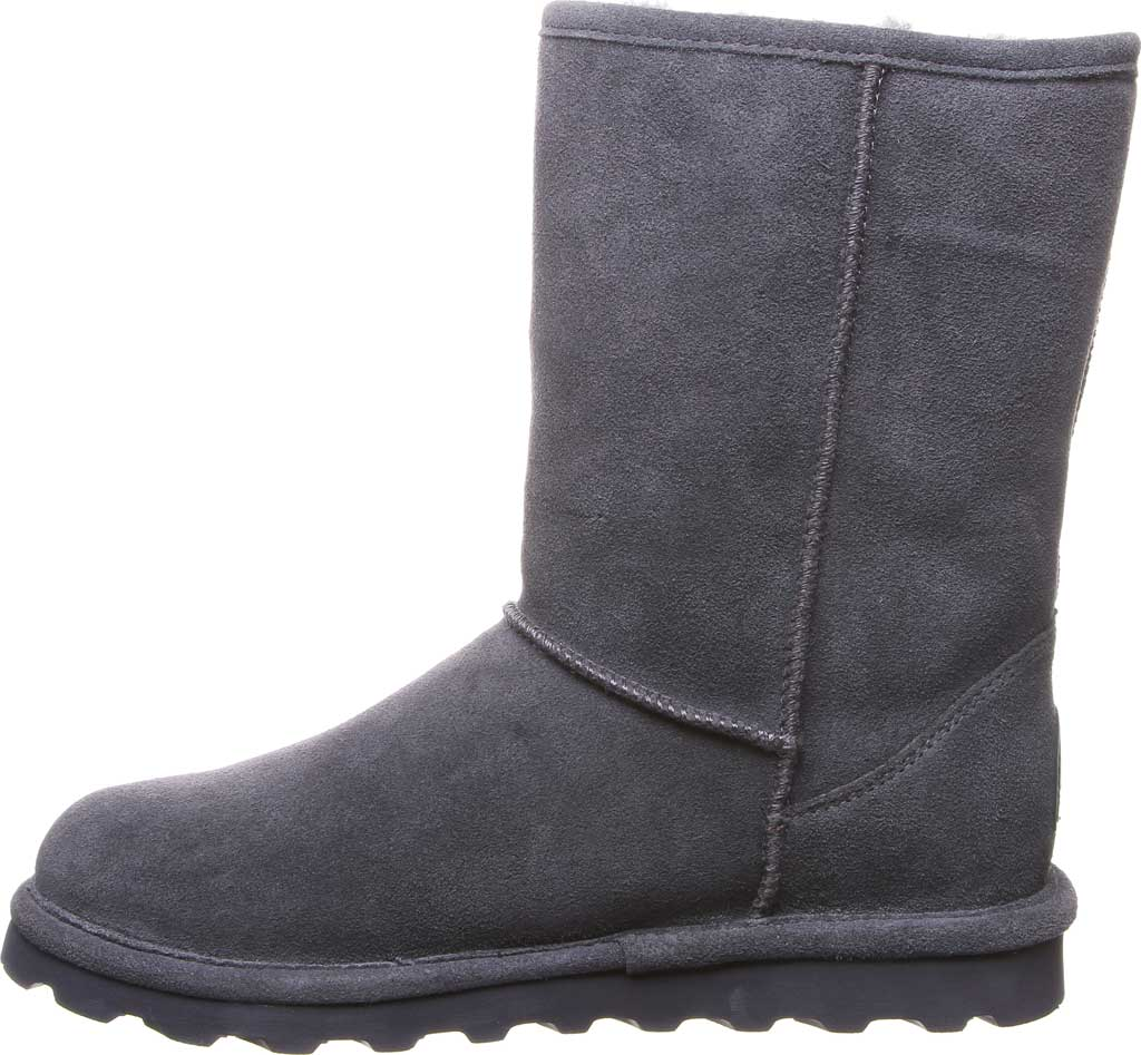 Women's Bearpaw Helen Pull On Boot, Charcoal Suede, large, image 3