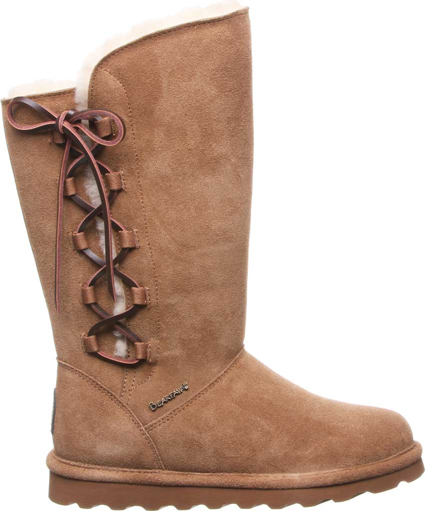 Women's Bearpaw Rita Wide Boot, Hickory II Suede, large, image 2