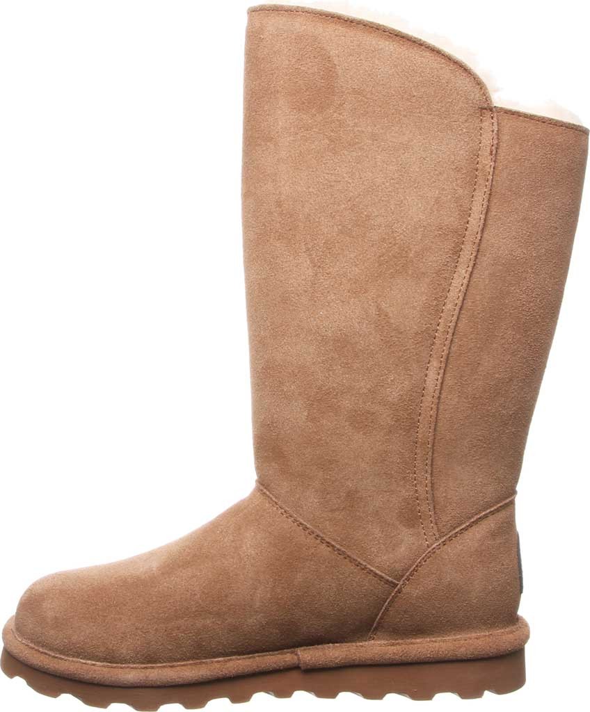 Women's Bearpaw Rita Wide Boot, Hickory II Suede, large, image 3