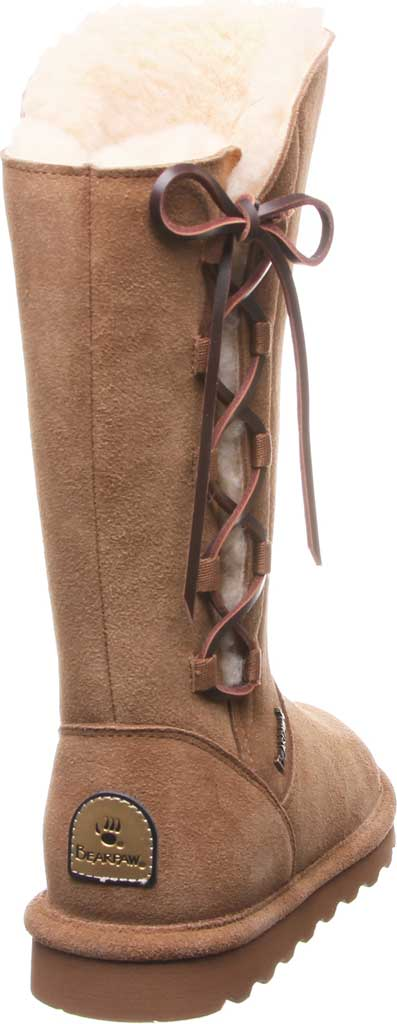 Women's Bearpaw Rita Wide Boot, Hickory II Suede, large, image 4