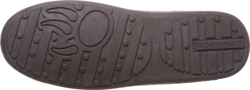 Men's Bearpaw Mach IV Wide Moccasin Slipper, Chocolate Full Grain Leather, large, image 5