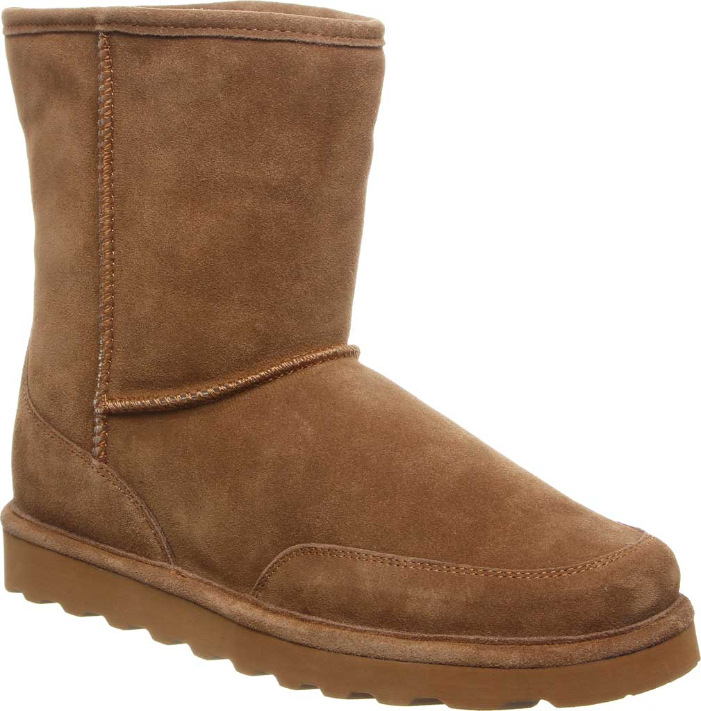 Men's Bearpaw Brady Wide Pull On Boot, Hickory II Suede, large, image 1