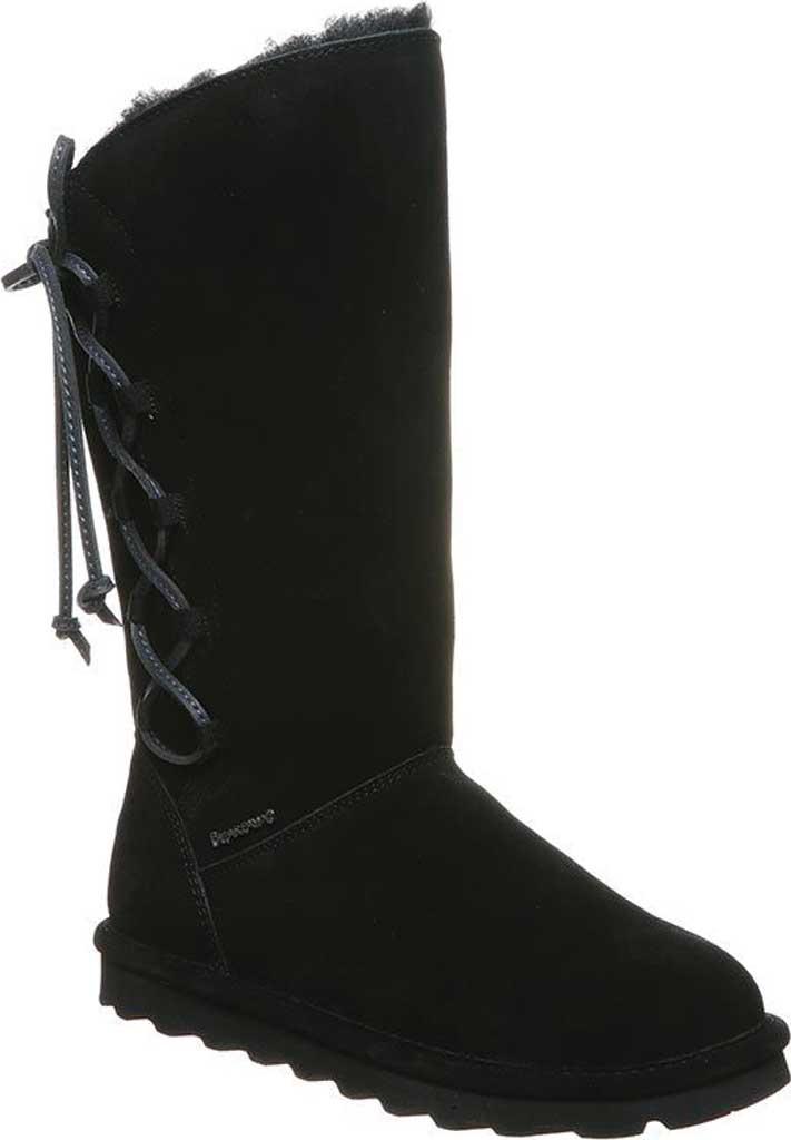 Women's Bearpaw Rita Sheepskin Tall Boot, Black II Suede, large, image 1