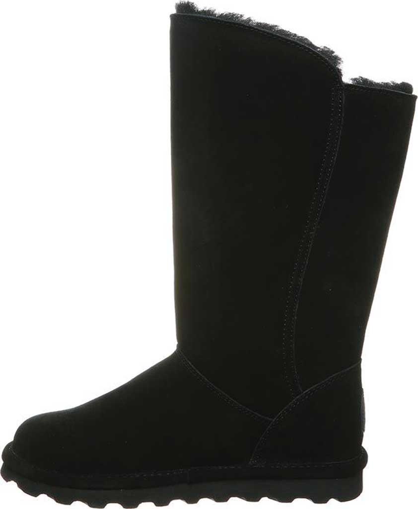 Women's Bearpaw Rita Sheepskin Tall Boot, Black II Suede, large, image 3