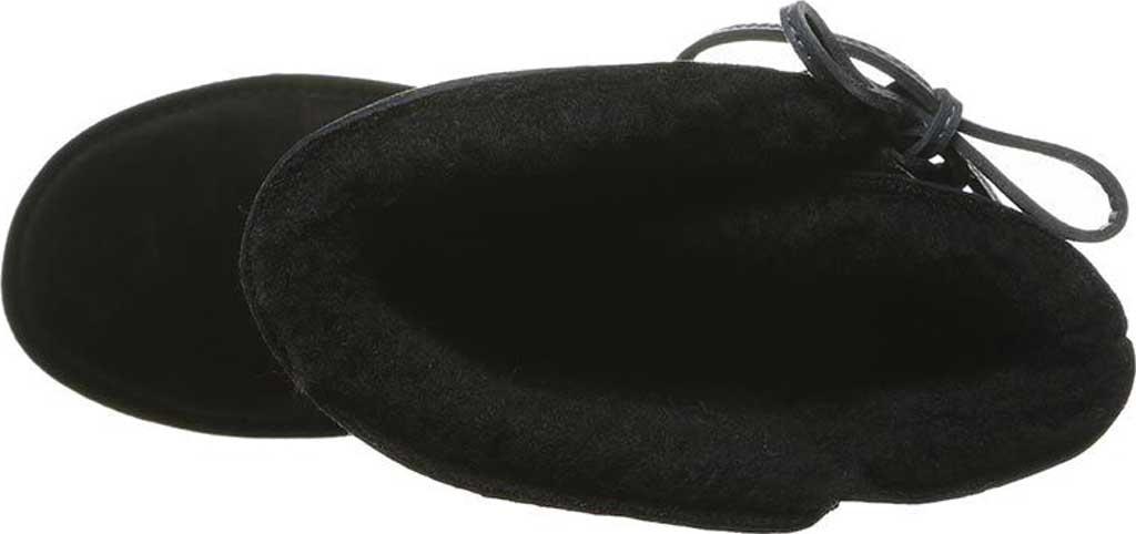 Women's Bearpaw Rita Sheepskin Tall Boot, Black II Suede, large, image 4