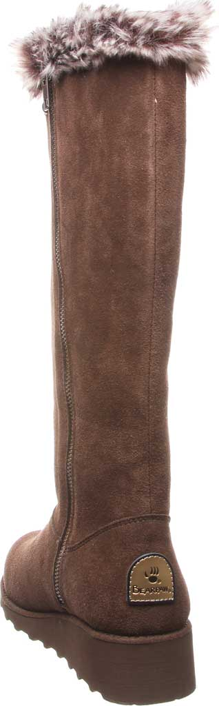 Women's Bearpaw Dorothy Knee High Boot, Earth Suede/Faux Fur, large, image 4