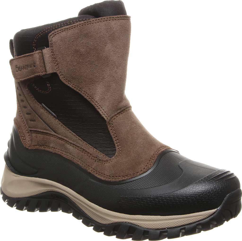 Men's Bearpaw Overland Waterproof Boot, Chocolate Suede/Nylon, large, image 1