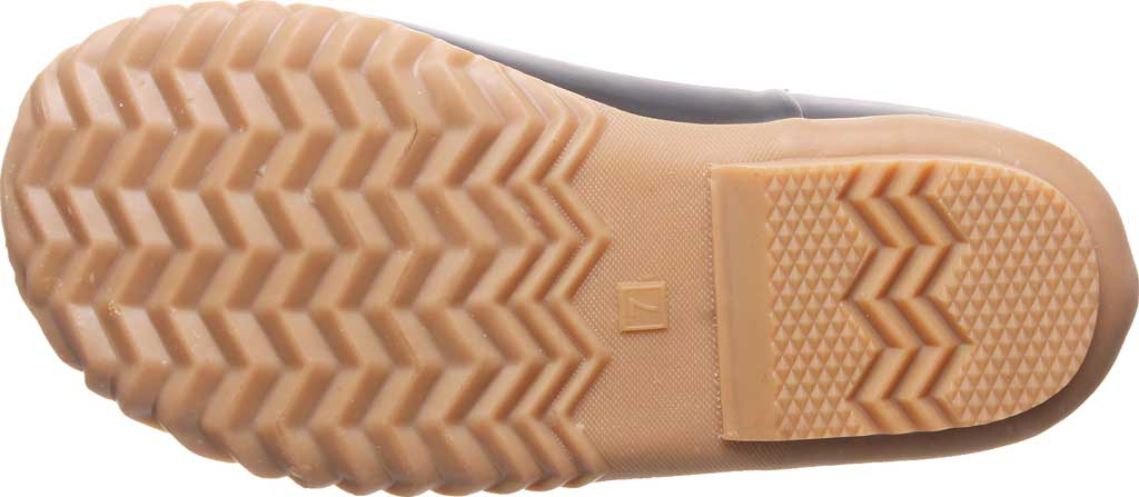 Women's Bearpaw Mckinley Duck Boot, Brown Waterproof Rubber/Quilted Nylon, large, image 4