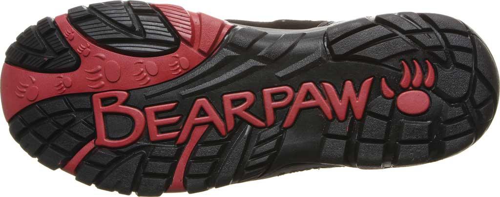 Men's Bearpaw Brock Wide Hiking Boot, Black/Grey Suede/Mesh, large, image 4