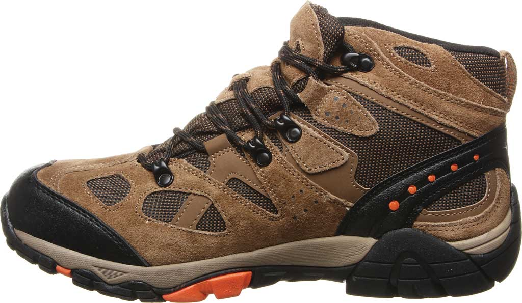 Men's Bearpaw Brock Wide Hiking Boot, Hickory II Suede/Mesh, large, image 3