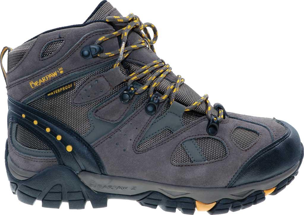 Men's Bearpaw Brock Wide Hiking Boot, Taupe Suede/Mesh, large, image 2