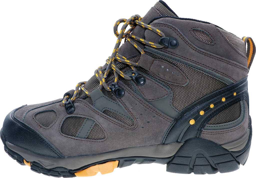 Men's Bearpaw Brock Wide Hiking Boot, Taupe Suede/Mesh, large, image 3