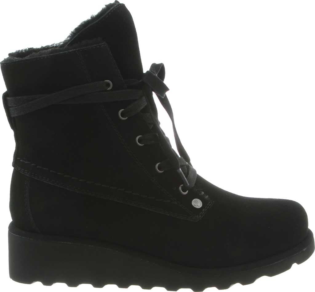 Women's Bearpaw Krista Wide Ankle Boot, Black II Suede, large, image 2