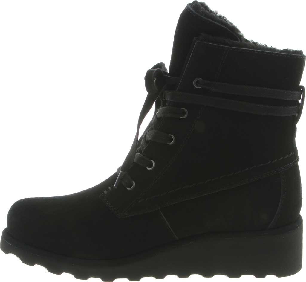 Women's Bearpaw Krista Wide Ankle Boot, Black II Suede, large, image 3