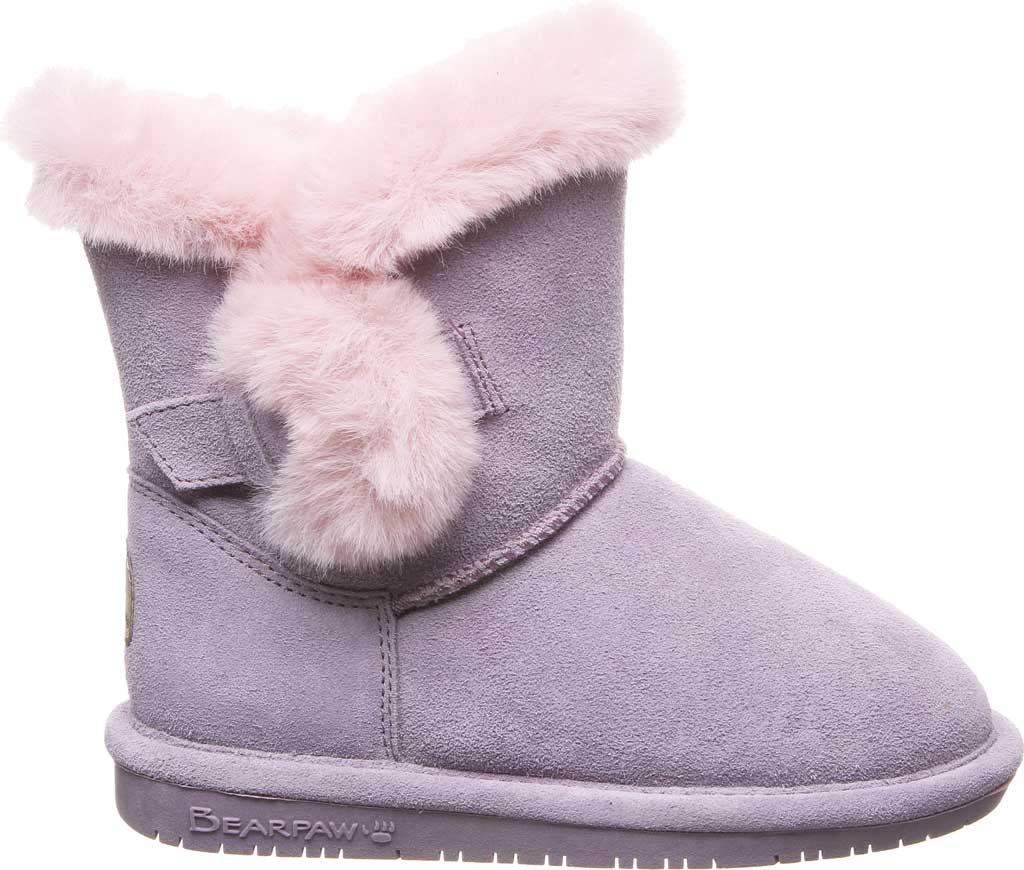 Girls' Bearpaw Betsey Pull On Boot Youth, Wisteria Suede, large, image 2