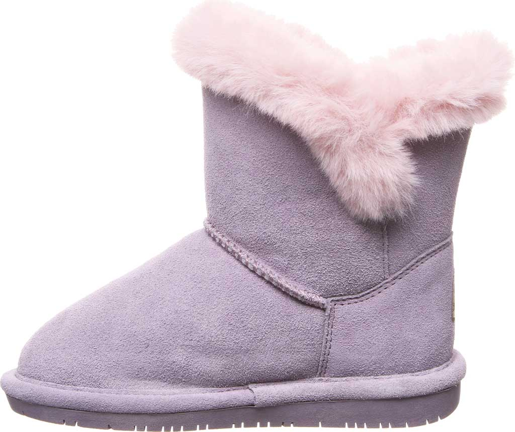 Girls' Bearpaw Betsey Pull On Boot Youth, Wisteria Suede, large, image 3