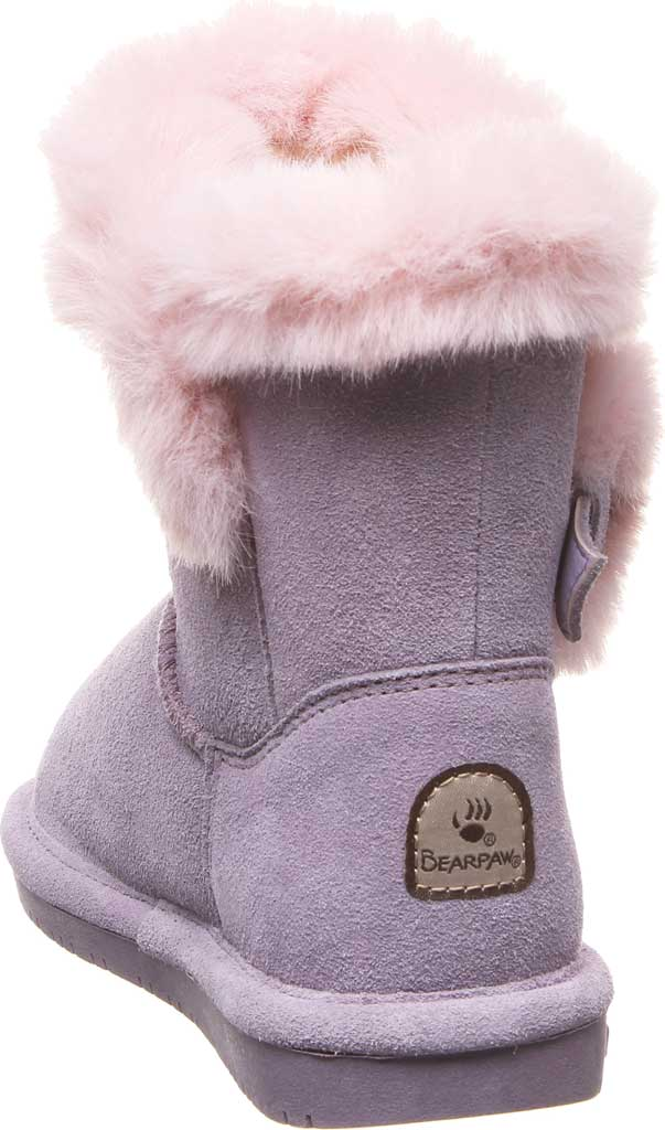 Girls' Bearpaw Betsey Pull On Boot Youth, Wisteria Suede, large, image 4
