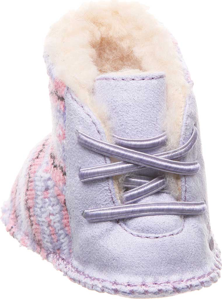 Infant Bearpaw Kaylee Bootie, Wisteria Knit, large, image 4