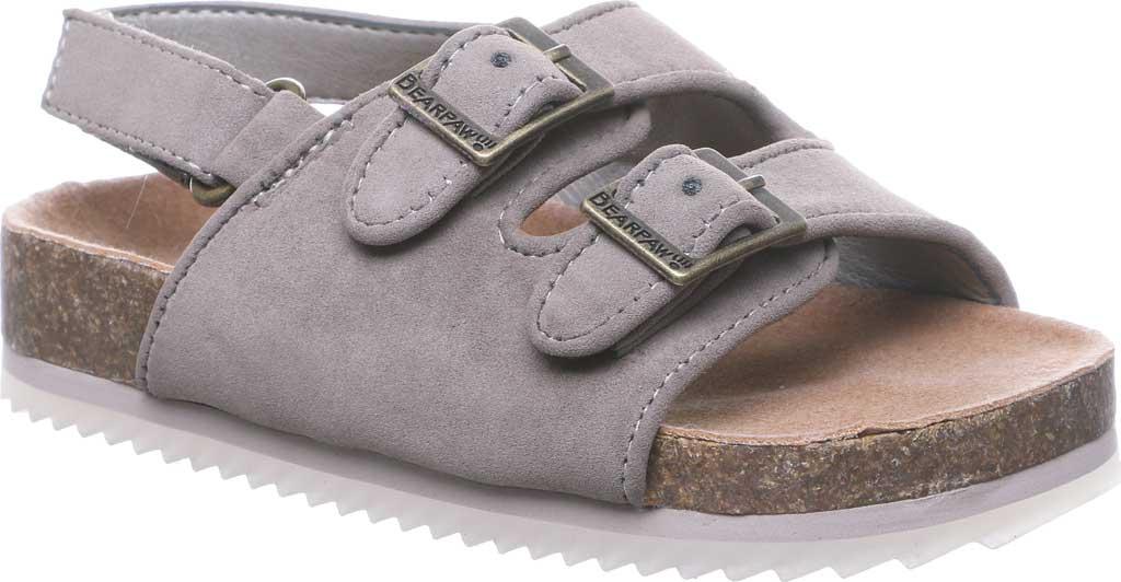 Infant Bearpaw Brooklyn Toddler Slingback Sandal, Stone Leather, large, image 1