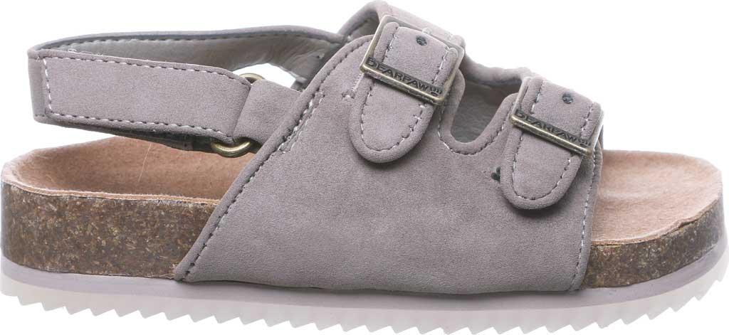 Infant Bearpaw Brooklyn Toddler Slingback Sandal, Stone Leather, large, image 2