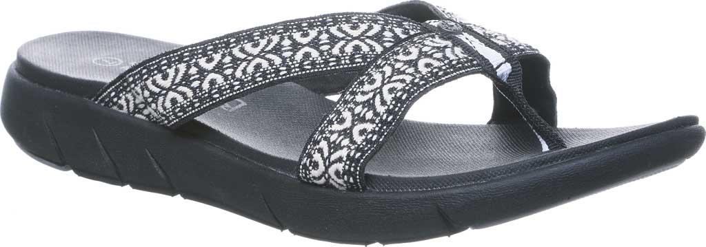 Women's Bearpaw Juniper Thong Sandal, Black II Jersey, large, image 1