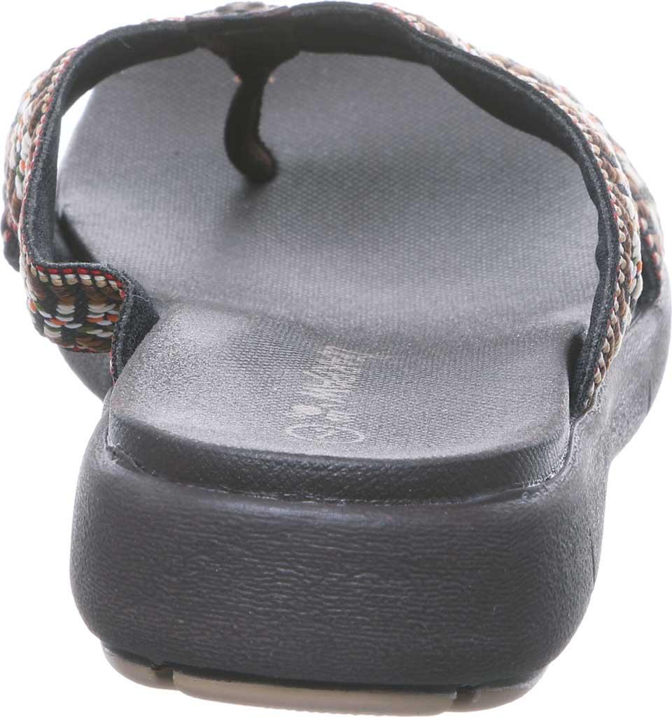 Women's Bearpaw Juniper Thong Sandal, Chocolate II Jersey, large, image 4