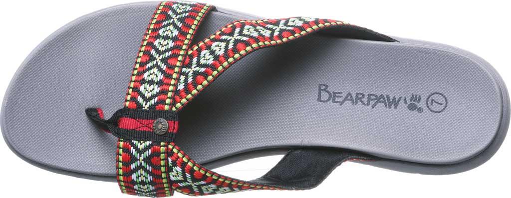 Women's Bearpaw Juniper Thong Sandal, Gray II Jersey, large, image 5