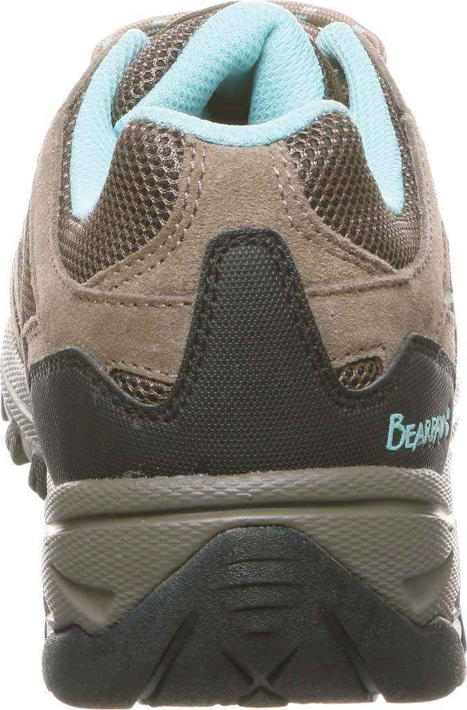 Women's Bearpaw Olympus Sneaker, Taupe Cow Suede/Mesh, large, image 4