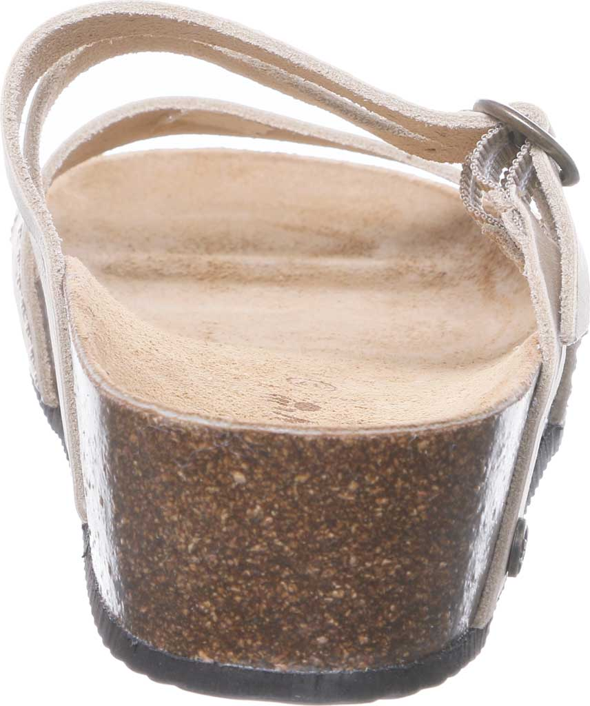 Women's Bearpaw Amoria Wedge Slide, Sand Leather, large, image 4