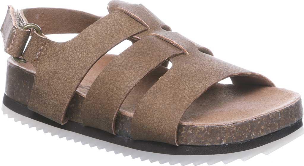 Infant Bearpaw Zaidee Strappy Sandal, Hickory II Leather, large, image 1