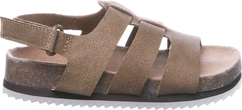 Infant Bearpaw Zaidee Strappy Sandal, Hickory II Leather, large, image 2