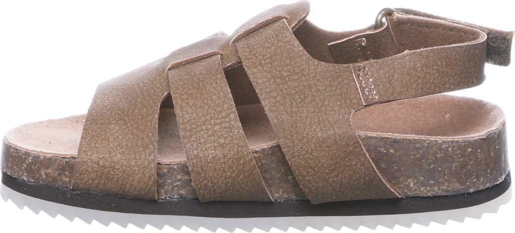 Infant Bearpaw Zaidee Strappy Sandal, Hickory II Leather, large, image 3