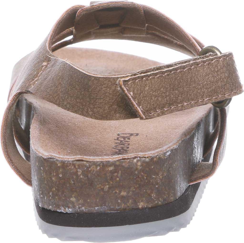 Infant Bearpaw Zaidee Strappy Sandal, Hickory II Leather, large, image 4