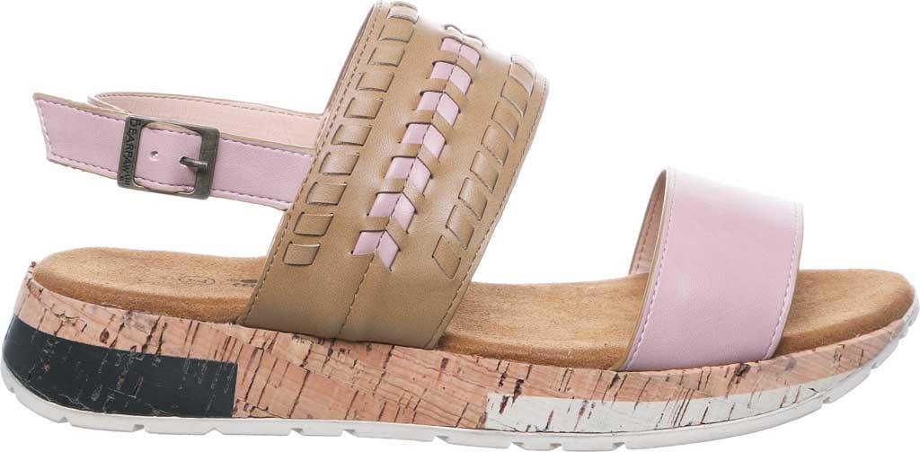 Women's Bearpaw Stormi Slingback Sandal, Pale Pink Faux Leather, large, image 2