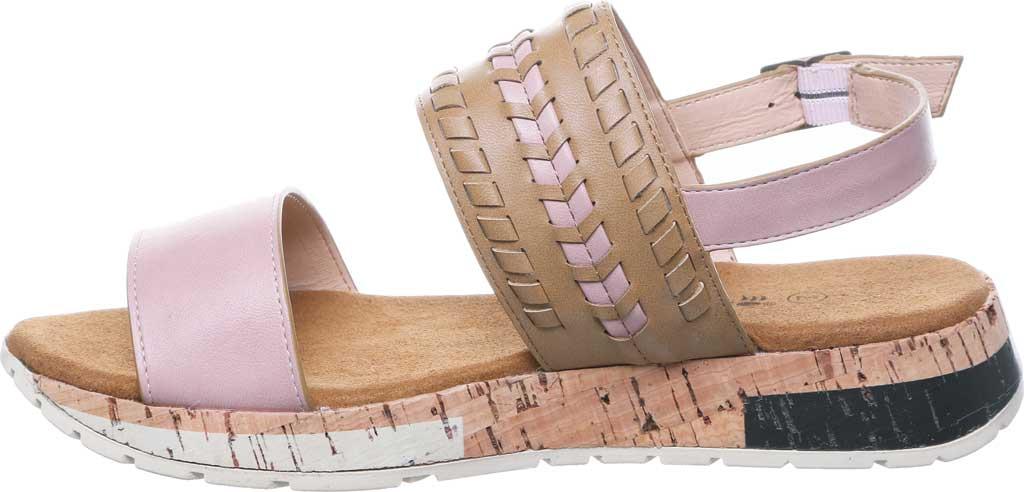 Women's Bearpaw Stormi Slingback Sandal, Pale Pink Faux Leather, large, image 3
