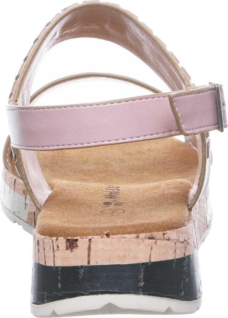 Women's Bearpaw Stormi Slingback Sandal, Pale Pink Faux Leather, large, image 4