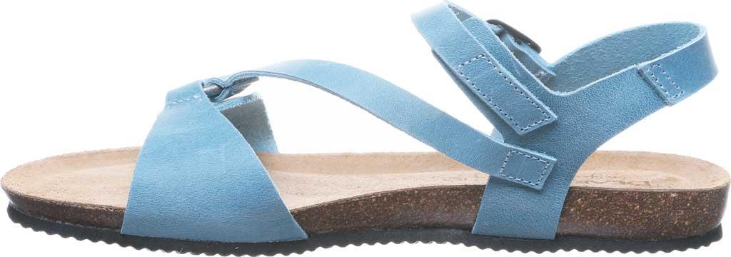 Women's Bearpaw Sandy Strappy Sandal, Blue Leather, large, image 3