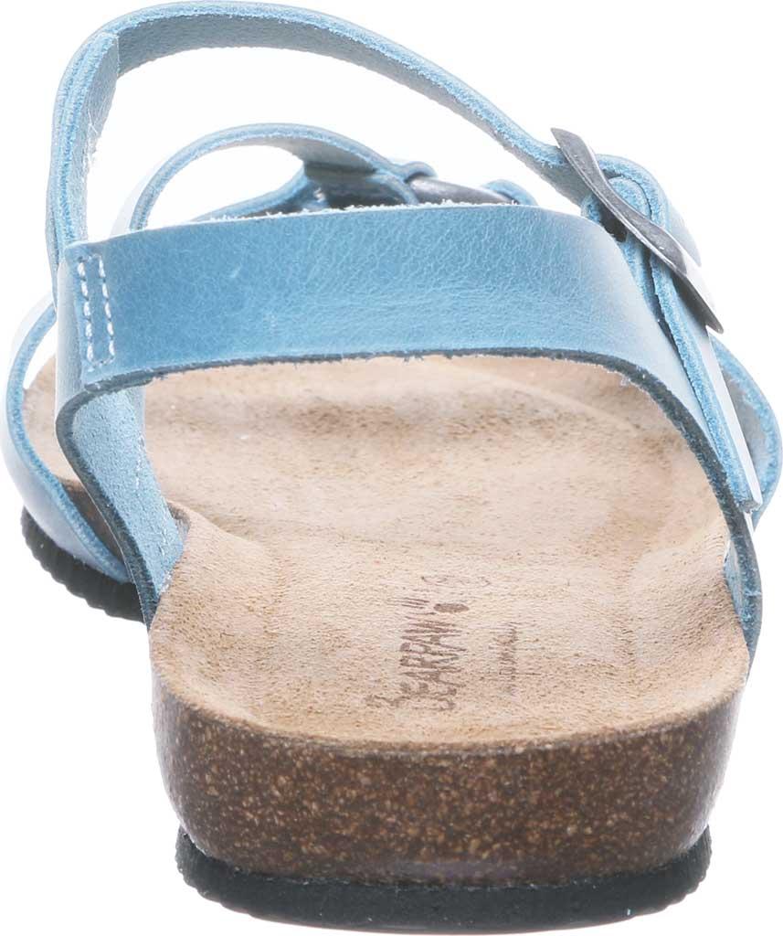 Women's Bearpaw Sandy Strappy Sandal, Blue Leather, large, image 4