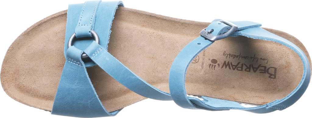 Women's Bearpaw Sandy Strappy Sandal, Blue Leather, large, image 5