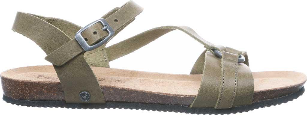 Women's Bearpaw Sandy Strappy Sandal, Loden Leather, large, image 2