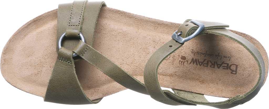 Women's Bearpaw Sandy Strappy Sandal, Loden Leather, large, image 5