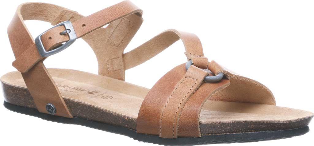 Women's Bearpaw Sandy Strappy Sandal, Saddle Leather, large, image 1