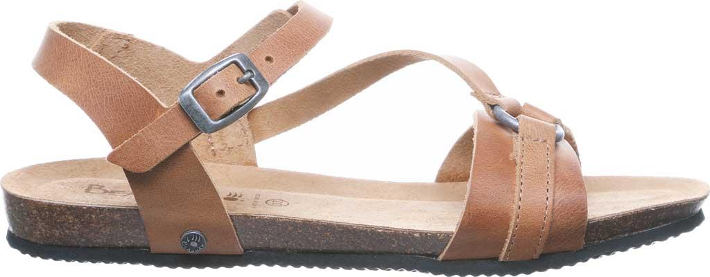 Women's Bearpaw Sandy Strappy Sandal, Saddle Leather, large, image 2