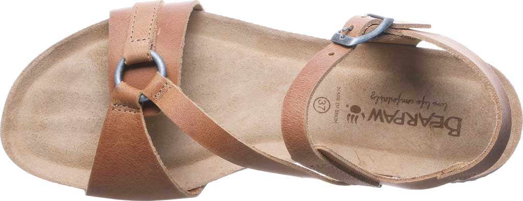 Women's Bearpaw Sandy Strappy Sandal, Saddle Leather, large, image 5