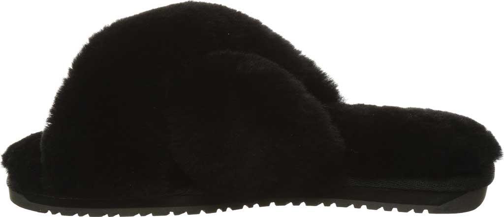 Women's Bearpaw Bliss Furry Slipper, Black II Suede, large, image 3