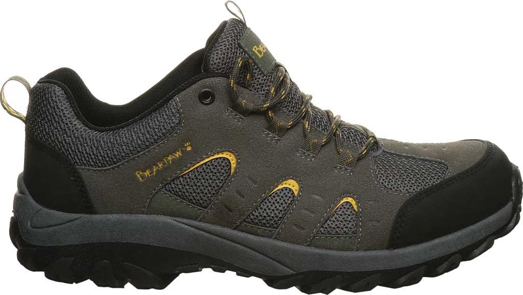 Men's Bearpaw Blaze Sneaker, Charcoal Suede/Mesh, large, image 2
