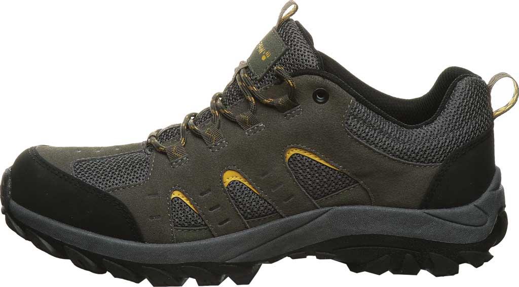 Men's Bearpaw Blaze Sneaker, Charcoal Suede/Mesh, large, image 3
