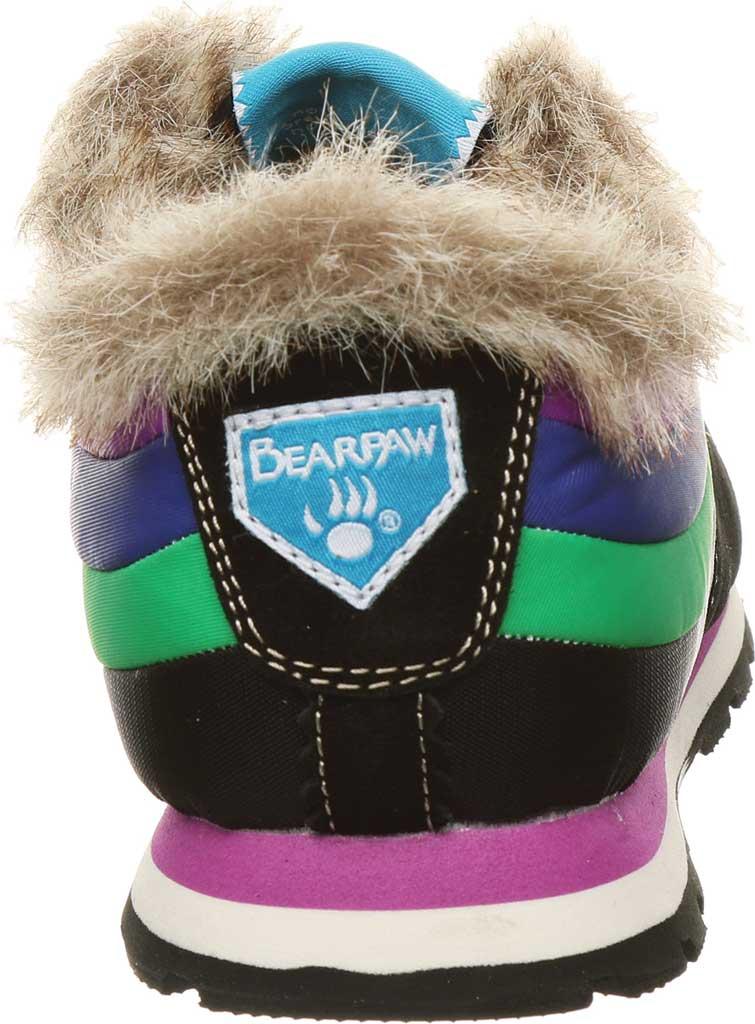 Women's Bearpaw Hoodoo Sneaker, Black II Suede/Nylon, large, image 4