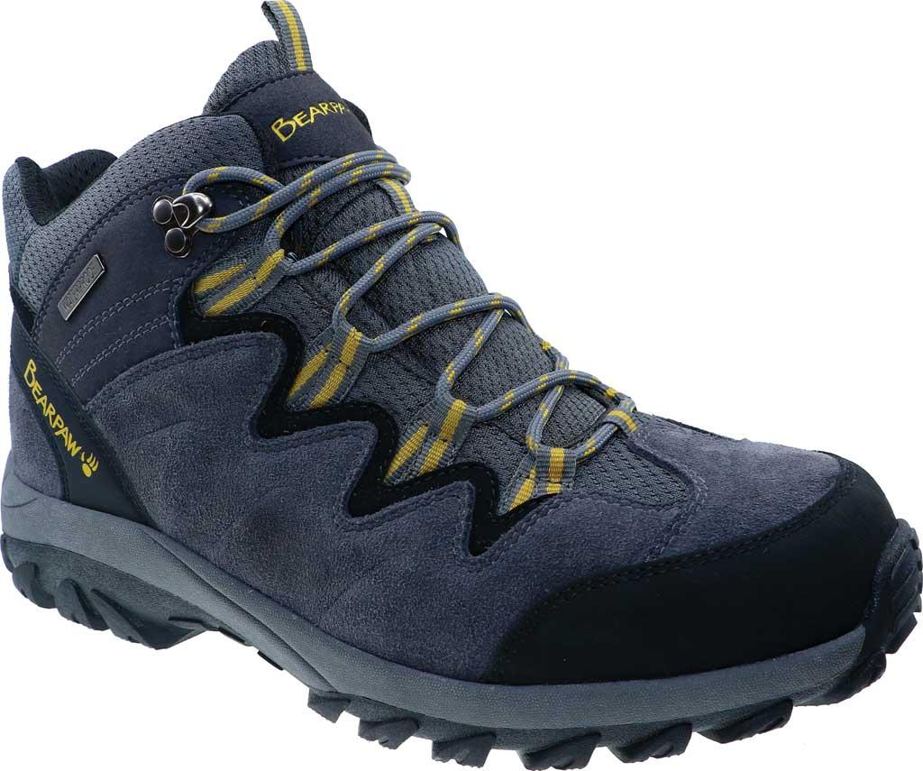 Men's Bearpaw Lars Waterproof Boot, Charcoal/Melon Suede/Mesh, large, image 1
