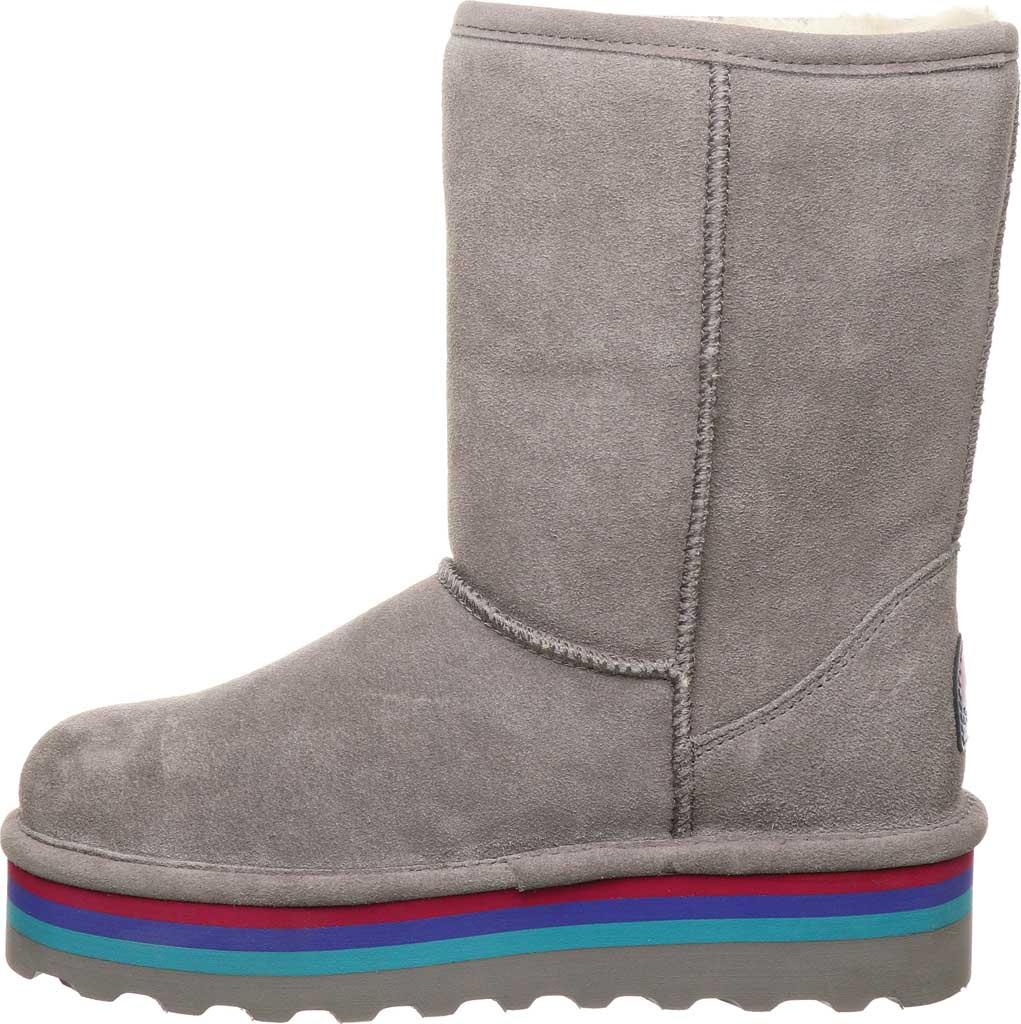 Women's Bearpaw Retro Elle Mid Calf Boot, Gray Fog Suede, large, image 3